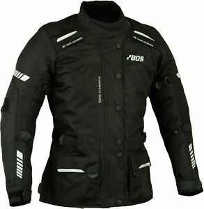 Veste-de-moto-pour-femme-veste-de-motard-d-039-hiver-en-textile-avec-armure-CE