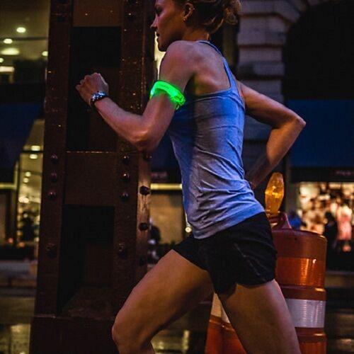 Led clignotant /& réfléchissant brassard ceinture pour nuit cyclisme /& running