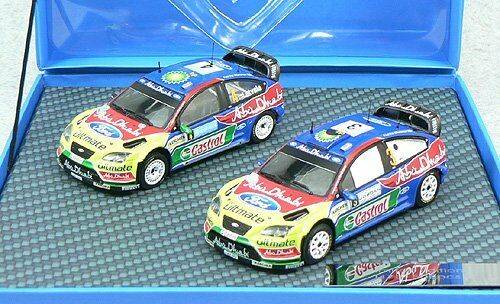 PRODRIVE 1 43 FORD FOCUS WRC WINNER 2 Set 08 Sweden Rally J. latvar
