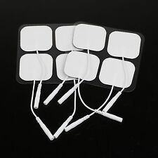 20X Useful Safe Replacement Electrode Tens Units Pads for Massagers Body 4X4cm