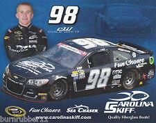 "2016 COLE WHITT ""CAROLINA SKIFF BOATS PREMIUM"" #98 NASCAR SPRINT CUP POSTCARD"