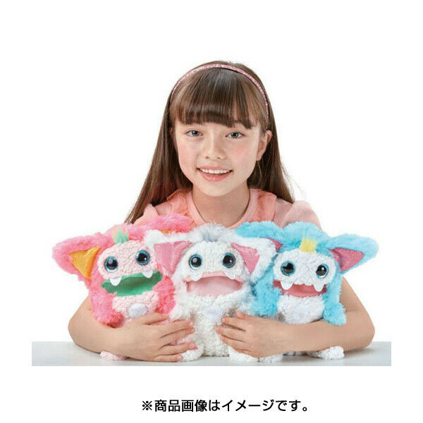 Rizmo Surprise Toy Pet that Evolves with Sound Japanese Berry Aqua Snow