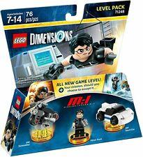 Lego Ethan Hunt 71248 Level Pack Dimensions Minifigure