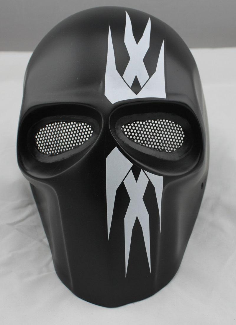 Nice Fiberglass Resin Mesh Eye Airsoft Paintball Full Face Predection Mask M426