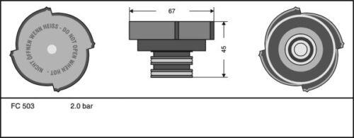 Plastique radiateur bouchon 2.0 bar pièce de rechange fit bmw série 3 E36 1990-1999
