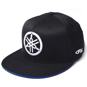 Yamaha Fork New Era Flex-Fit Hat Factory Effex™ BLACK SM MD VFE ... 5b8e5d6b2dc6