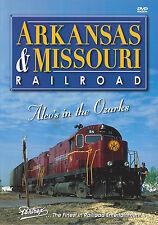 ARKANSAS & MISSOURI RAILROAD - Pentrex Railroad DVD - New