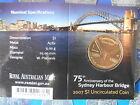 "2007 75th Anniversary of the SYDNEY HARBOUR BRIDGE $1 ""C "" Mint Mark COIN"