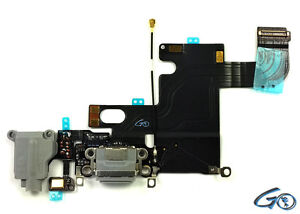 buy popular 81996 c847a Details about iPhone 6 Dock Connector Charging Port Assembly + Adhesive  Replacement Part Black