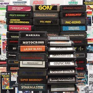 Atari-2600-7800-jeu-Module-instructions-Collection
