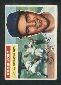 1956-Topps-128-Eddie-Yost-VGEX-Senators-84007