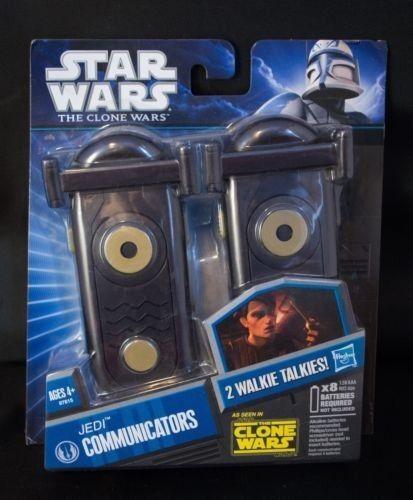 Star Wars The Clone Wars Walkie Talkie Jedi Communicators Brrand New