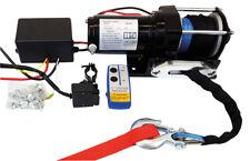 Elektrische Seilwinde Winde Synthetikseil bis 2722 kg FUNK Fernsteuerung Zubehör