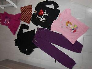Lotto-stock-bambina-tg-10-11-A-pantalon-champion-terranova-vestito-gonna-quadri