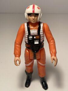 🔥Vintage Star Wars Action Figure 1978 HK 3-LINE CCO LUKE SKYWALKER X-WING PILOT