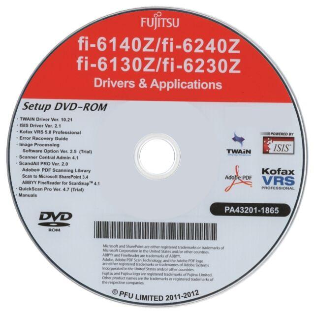 How to install your fujitsu fi-6130z desktop scanner youtube.