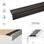 Aluminium-Stair-Nosing-Edge-Trim-Step-Nose-Edging-Nosings-For-Carpet-Wood-A38 thumbnail 9