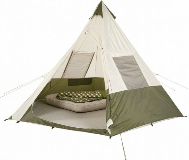 Ozark Trail 7 Person Pyramid Indian Teepee Outdoor Camping ...