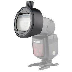 Godox-S-R1-Round-Head-Accessories-Adapter-For-Camera-Flash-V860II-TT685-TT600