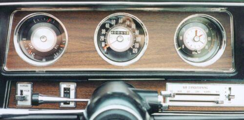 1968-1972 Cutlass 442 Rally Pac Tach Speedometer and Fuel Gauge Lens Kits