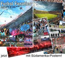 Futbol fanatico 2DVD NEU OVP + Südamerika-Postern - Carlo Farsang Jörg Heinisch