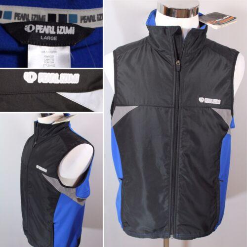 NEW Pearl Izumi Paragon Barrier Vest Blue Black - Men's Size Large L