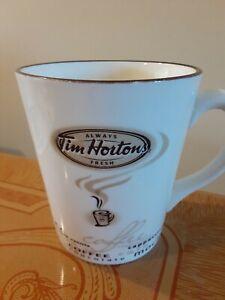 TIM HORTONS Limited Edition 2010 Tea COFFEE MUG Cup star fireworks coast #010