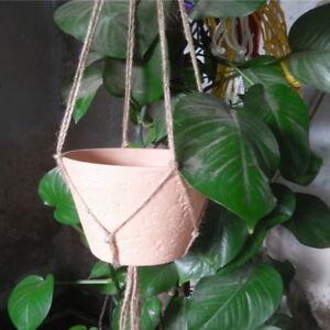 Handmade-Macrame-Plant-Hanger-Rope-Flower-Pot-Garden-Holder-Hanging-Rope-Basket