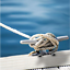 2Pcs-8Inch-Heavy-Duty-Boat-Hollow-Base-Cleat-316-Stainless-Steel-for-Boat-Marine thumbnail 4