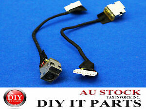 DC power jack in cable harness for HP G62-369TX G62-420CA G62-423CA G62-435DX