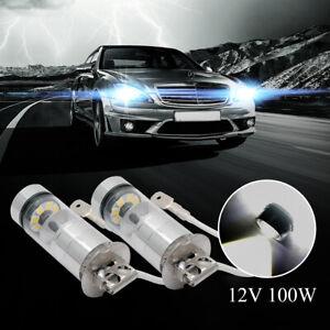 2x-H3-100W-High-Power-LED-CREE-HEADLIGHT-FOG-DRIVING-LIGHT-BULBS-CAR-GLOBE-LAMP