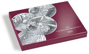 Coffret Euros des Regions 2011 - 10€ - Complet - France