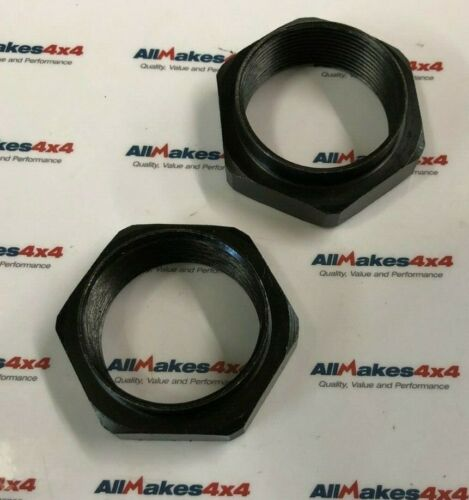 ALLMAKES Land Rover Defender Roulement De Roue HUB Nuts 1998 Onwards RFD100000 X 2