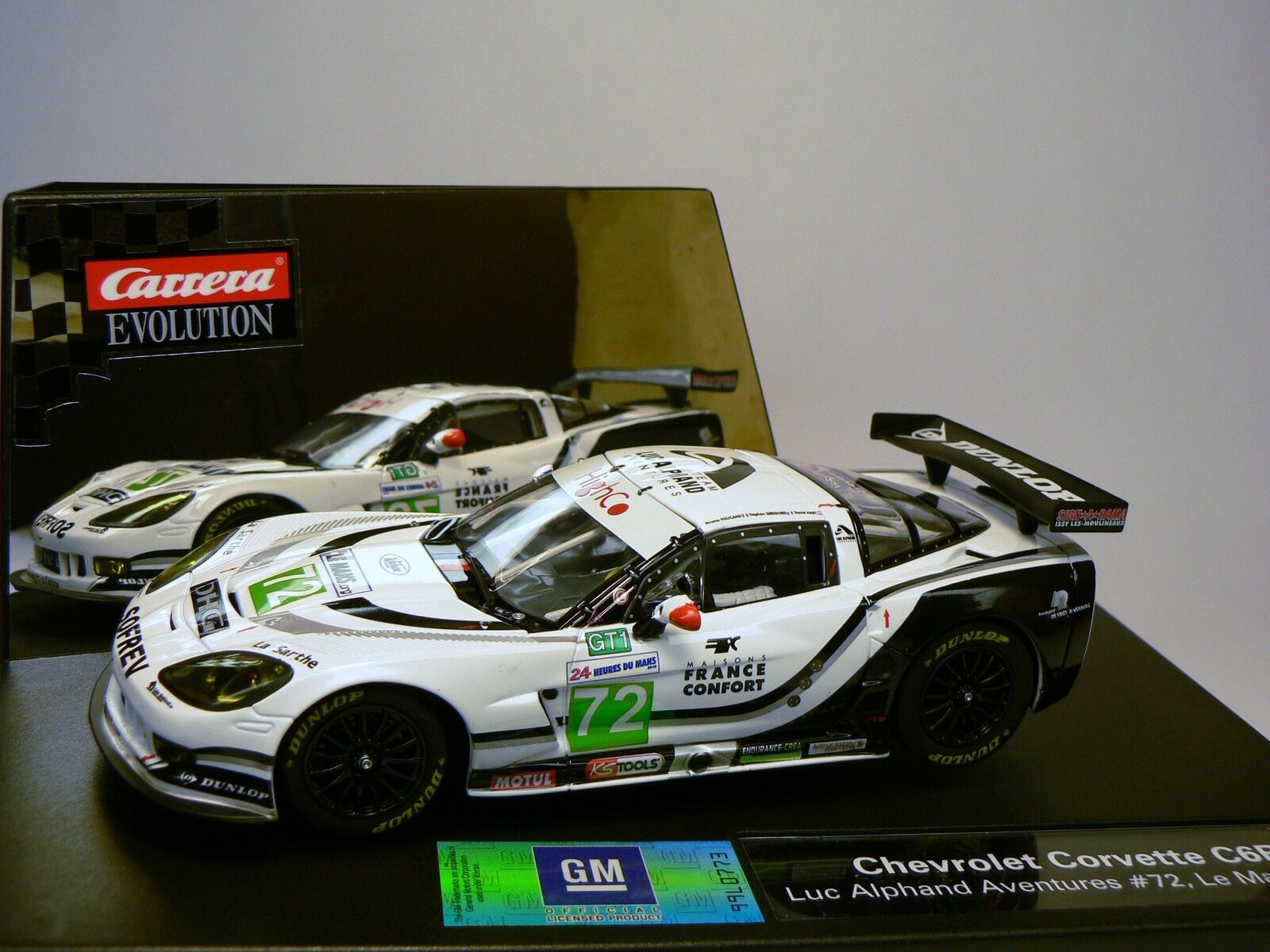 Carrera Evolution 27373 Chevrolet Corvette C6R LEMANS 2010 NEW