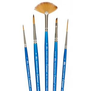 Winsor /& Newton Artists Cotman Flat Angled Single Brushes For Watercolour