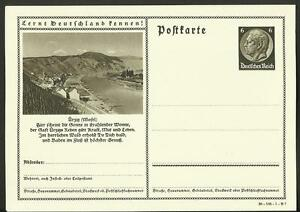Vintage Postcard- German Municipality of Ürzig, 1930's, Unposted