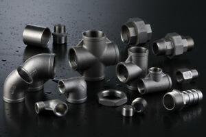 304-Stainless-Steel-Pipe-Fittings-Size-1-8-034-to-4-034-NPT-Threads