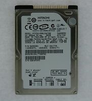 Hte541680j9at00 Hitachi Travelstar E5k160 80gb 5400rpm Ata-133 8mb Cache 2.5-inc