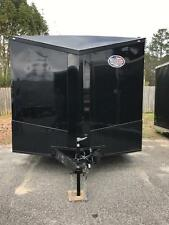 2017 8.5x24 Ft Enclosed Cargo Trailer *Blackout Spread Axle*
