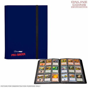 Ultra-Pro Dark Blue Pro Binder  Includes 20 Trading Card Pages to Hold 360 Cards