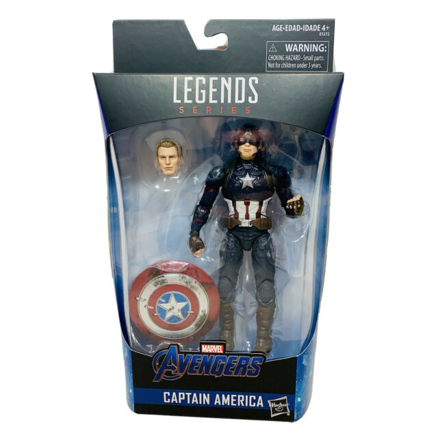 "Hasbro Marvel Legends Captain America Worthy Avengers Endgame 6"" Figure"