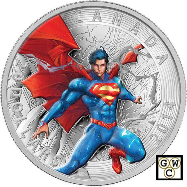 2014'Superman Annual #1 (2012)-Iconic Superman' Prf $20 .9999Silver(14032)
