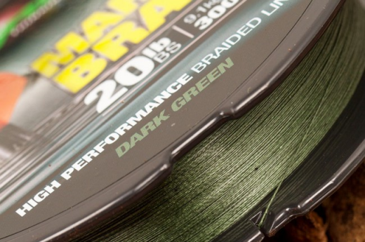 Korda Carp Fishing NEW Marker Braid 20lb 300m - Braided Mainline