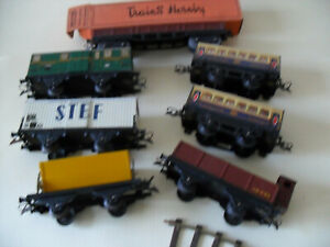Wagons-sept-Hornby-Meccano-H0