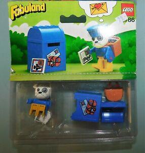 LEGO-FABULAND-ref-3786-BUZZY-BULLDOG-FACTEUR-ANCIEN-JOUET-NEUF-DE-1982-SCELLE