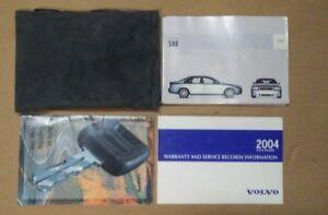 volvo s80 owners manual 2004 book s80 handbook with pouch case 04 ebay rh ebay co uk 2004 Volvo S80 White 2007 Volvo S80