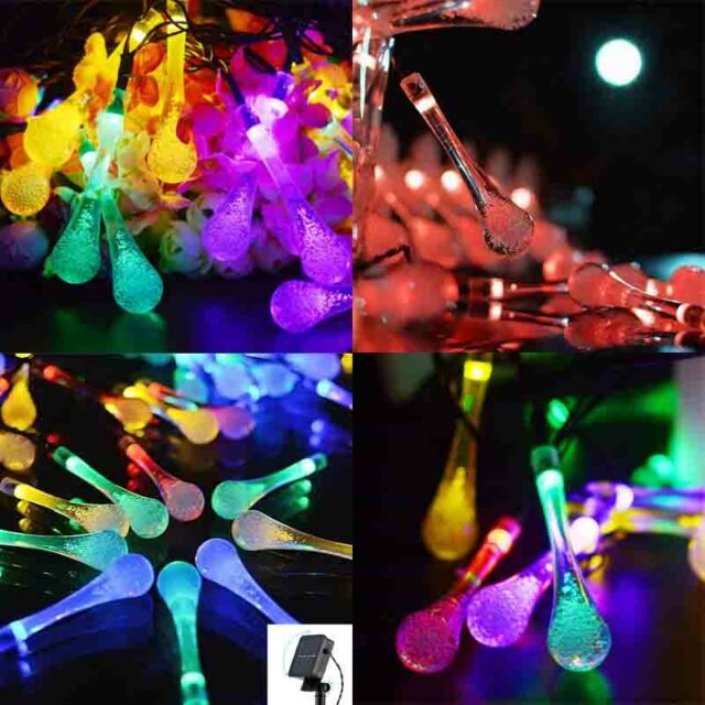 save off 96629 f2841 Solar 50 30 20 String Lights Patio Party Home Garden Wedding Solar LED  Bulbs NEW