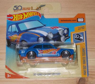 Blechspielzeug Sporting Hot Wheels Hw 50th Race Team 2/10 ´70 Ford Escort Rs1600 Neu/ovp Ungleiche Leistung Autos & Lkw