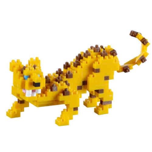 Micro-Sized Building Blocks #200.124 *NEW* BRIXIES LEOPARD 210 Pieces Nano