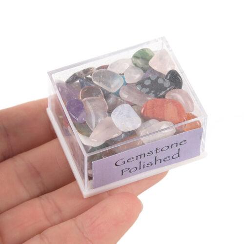 1BoxMixed Natural Rough Stones Raw Rose Quartz Crystal Mineral RockCollectionFEH